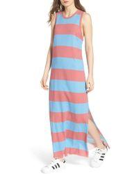 30efb1d3a4 Frank   Eileen - Stripe Muscle Maxi Dress - Lyst