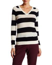 Lands' End - Cashmere V-neck Sweater - Lyst