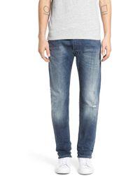 DIESEL | Safado Slim Straight Leg Jeans (0853s) | Lyst