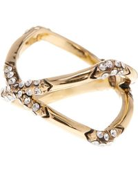 House of Harlow 1960 - Crystal Detail X Ring - Size 6 - Lyst