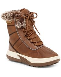 Lands' End - Chill Action Faux Fur Lined Boot - Lyst