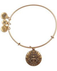 ALEX AND ANI - Hand Of Fatima Charm Expandable Bracelet - Lyst