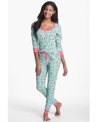 Steve Madden - 'cozy Up' Printed Thermal Set - Lyst