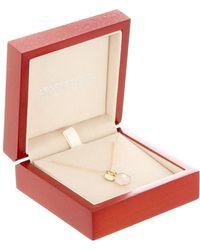 Argento Vivo - Gold Plated Sterling Silver Heart Charm Rose Quartz Pendant - Lyst