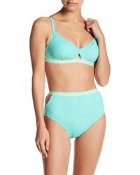 Lands' End - High-waisted Bikini Bottom - Lyst