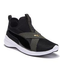 89d98b55f3e3 PUMA - Rebel X Bling Slip-on Sneaker - Lyst