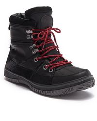 Pajar - Great Fleece Lined Waterproof Leather Snow Boot - Lyst