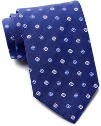 David Donahue - Flower Silk Tie - Lyst