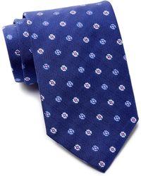 David Donahue - Flower Silk Tie - Lyst