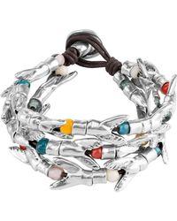 Uno De 50 - Tricola Beaded Multi Strand Bracelet - Lyst
