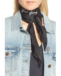 Treasure & Bond - Skinny Scarf - Lyst