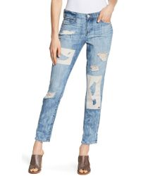 True Religion - Cameron Slim Boyfriend Jeans - Lyst