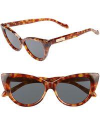 af0f73dd7d Sonix - Kyoto 51mm Cat Eye Sunglasses - Lyst