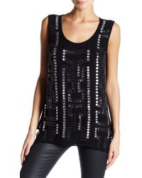 NÜ - Beaded Tank - Lyst