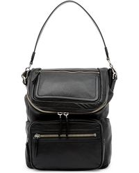 Vince Camuto - Patch Leather Backpack - Lyst