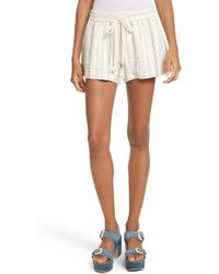 See By Chloé - See By Chlo? Stripe Shorts - Lyst