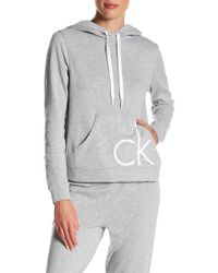 Calvin Klein - Two-tone Logo Pullover - Lyst