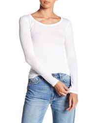 AllSaints - Stam Long Sleeve Top - Lyst