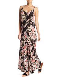 Billabong - Dance On Air Patterned Maxi Dress - Lyst
