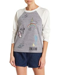 Volcom - All Or Nothing Raglan Tee - Lyst
