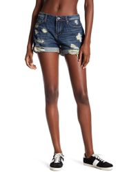 Articles Of Society | Jimmy Distressed Denim Short | Lyst