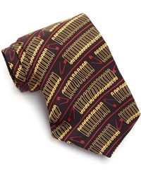 L.A.M.B. - Silk Safety Pin Tie - Lyst