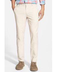 Bonobos - Tailored Fit Washed Chinos - Lyst
