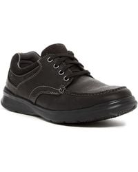 Clarks - Cotrell Edge Leather Sneaker - Wide Width Available - Lyst