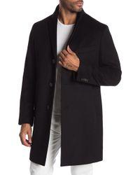 Cardinal Of Canada - Wool Blend Coat - Lyst
