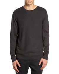 Calibrate - Honeycomb Stitch Crewneck Sweater - Lyst