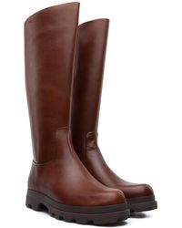 Camper - 1980 Lug Sole Leather Boots - Lyst