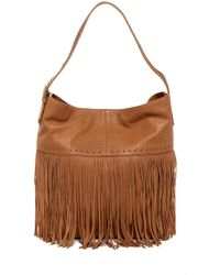 Lucky Brand - Zori Leather Hobo Bag - Lyst
