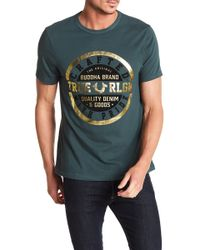 True Religion - Crafted Print Tee - Lyst