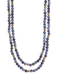 Gorjana | Dakota Wrap Necklace | Lyst