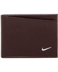 Nike - Leather Passcase Wallet - Lyst
