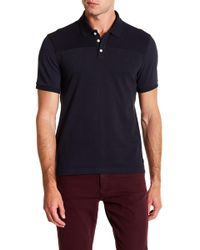 Original Penguin - Short Sleeve Sueded Pieced Polo - Lyst