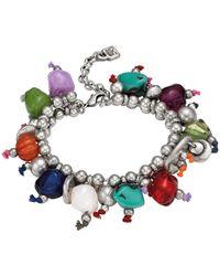 Uno De 50 - Sawdust Multicolor Beaded Bracelet - Lyst