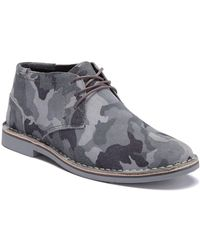 Kenneth Cole Reaction - Desert Sun (navy 1) Men's Lace-up Boots - Lyst