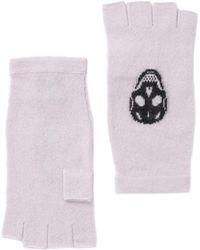 Skull Cashmere - Gloves - Lyst