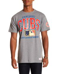 Mitchell & Ness - Cubs Mlb Tee - Lyst