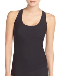 Spanx - Perforated Racerback Tank Top - Lyst