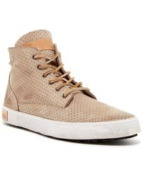 Blackstone - Perforated High Top Trainer - Lyst
