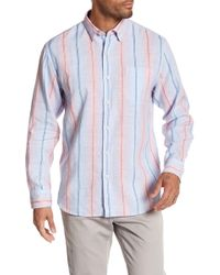Tommy Bahama - Striped Long Sleeve Shirt - Lyst
