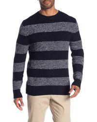 Joe Fresh - Chunky Knit Stripe Sweater - Lyst