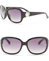 Guess - 60mm Oversized Square Sunglasses - Lyst