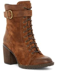 Born - Cass Block Heel Boot - Lyst