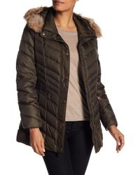 Andrew Marc - Raleight Genuine Coyote Fur Trim Quilted Jacket - Lyst