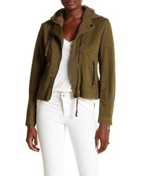 Doma Leather - Army Biker Jacket - Lyst