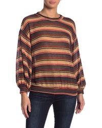 Lush - Stripe Sweater - Lyst