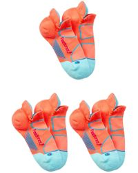 Feetures - Elite Light Cushion No Show Socks (small) - Set Of 3 - Lyst